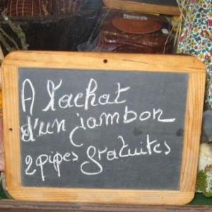 Salaisons Josse , La Roche, jambon, pipe, gratuite,