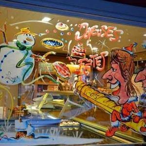 couple de boulanger en caricature