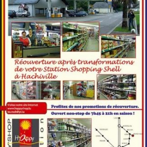Station Shopping Shell Hachiville
