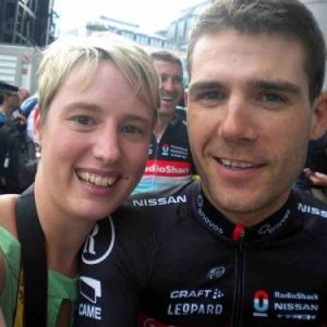 Dislaire Christel et Maxime au Tour de France