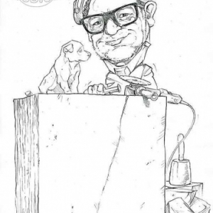 caricature de Pierre CLOSSET par Olivier Claudon