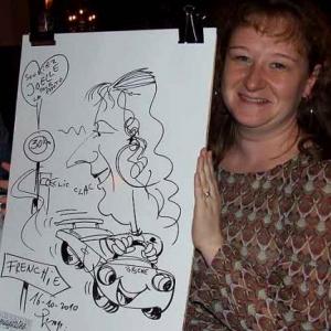 Caricature au Frenchie Restaurant de Luxembourg-7059