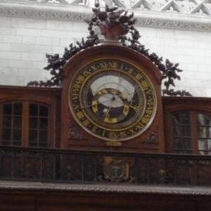 """St Omer : """" l' Horloge astronomique"""" dont le mecanisme est inchange depuis 1558"""
