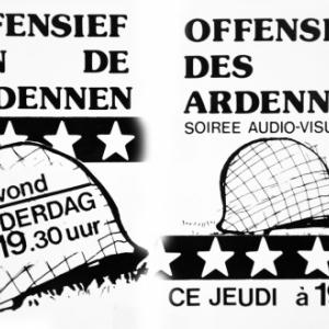 """Affiche 1984-85 pour """"Houffalize se souvient"""""""