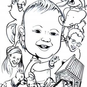 caricature enfant