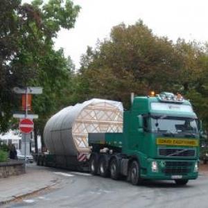 Arrivee du convoi a Malmedy