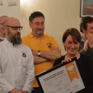 Le Bruit qui Court grand vainqueur du concours du meilleur boulet liegeois vegetarien