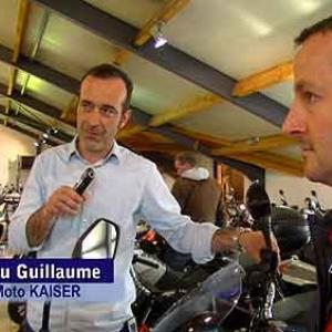 Jean-Lou Guillaume, vendeur pour moto Kaiser