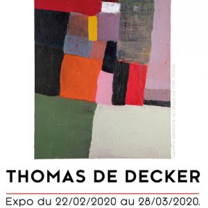Prolongation de l'exposition de Thomas De Decker à la galerie ABC&Design