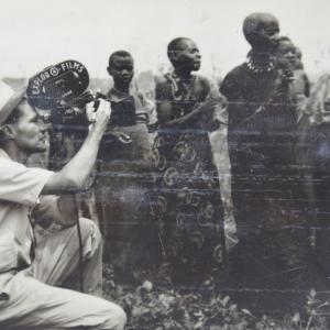 1957, Marcel Thonnon filme au Rwanda chez les Batoys