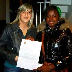 Cap'emploi : KECH Stephanie et QUETA Nafissatu