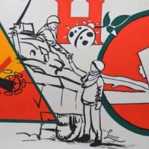 75eme anniversaire de l'entrée de la 3eme et 1er Armée US à Houffalize