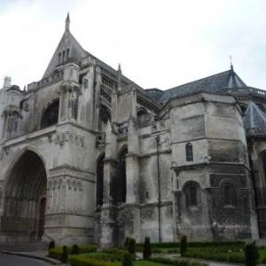 St Omer : La cathedrale Notre-Dame.