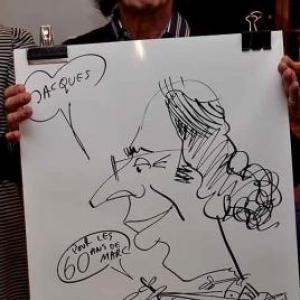 Caricaturiste pour les 60 ans de Marc - photo 1738