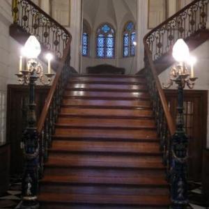 Le magnifique escalier interieur