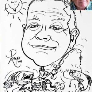 caricature minute pecheur