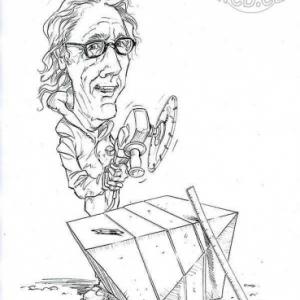 caricature de Henk KORTHUYN par Olivier Claudon