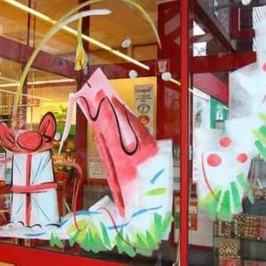 Peinture sur vitrine pour Noel-7318