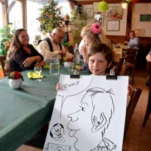 Caricature Jose Michel-4440