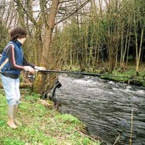 Stage d'initiation à la pêche en Ardenne