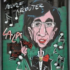 caricature de Di Rupo à Malmedy