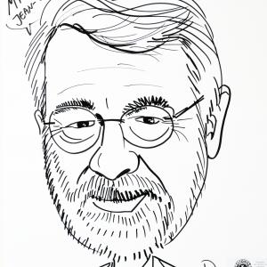 Jean-Pierre Misson, caricature