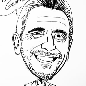Geoffrey Geets, caricature