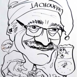 caricature de Dominique MATHURIN