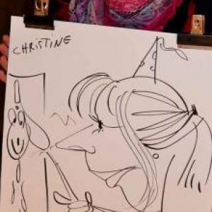 caricature NISSAN Marche - 5834