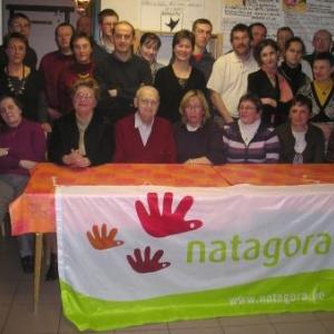 membres du Bureau Natagora Ardenne centrale. A G du 15 02 2008