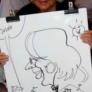 Caricatures pour les 60 ans de Henri ROEMER - photo 8627