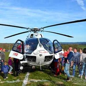 helicoptere medicalise Tohogne 2015