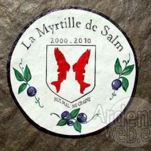 10e anniversaire de la Confrerie de la Myrtille de Salm le samedi 4 septembre 2010