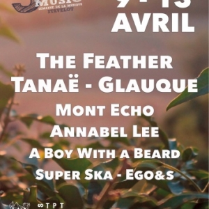 Stavelot. du 9 au 13 avril. 5 DAYS off MUSIC