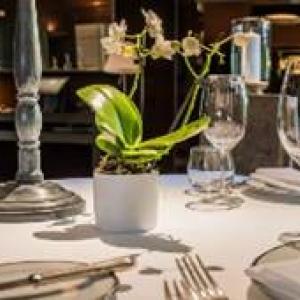 Francois Tonglet au restaurant Le Chene Madame