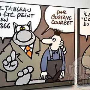 Philippe Geluk expose le Chat-6476
