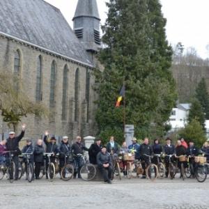 Un ancien velo au coeur des Ardennes
