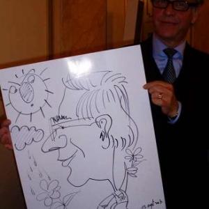 Caricature, chercheur,bruxelles, 30021