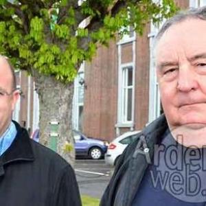 Ministre Philippe Courard et Jean-Henri Dewez