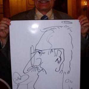 Caricature, chercheur,bruxelles, 30020