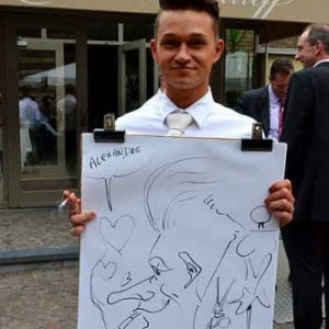 Caricature mariage-7138