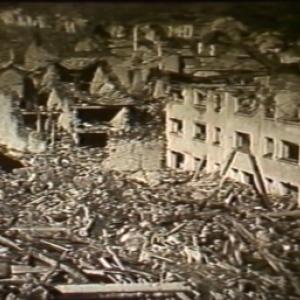 Houffalize video NB de 1945