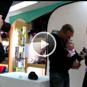 video photosbox photo gratuite de votre enfant chez Baby PEKUS