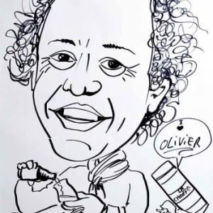 caricature de Olivier DE SMET