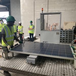 SOLARCYCLE , filière de recyclage des panneaux photovoltaïques