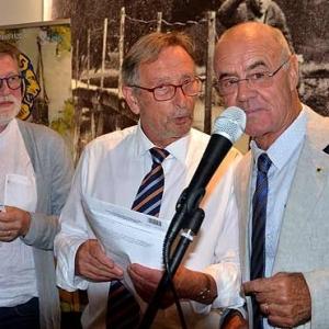 Pierre Poncelet ,Andre Jordens et Daniel Lesage