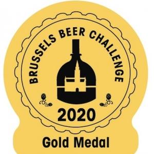 Médaille d'or pour la Peak Barrel Aged – Triple Rhum 2019 de la Brasserie Belgium Peak Beer.