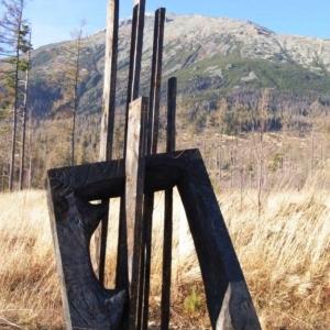 Station 1 : Le Seigneur Jésus est condamné à mort ( Slavomír Gabriška (SK) 2010)  ( photo : F. Detry )
