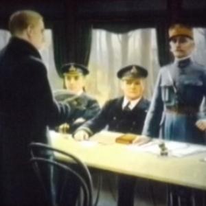Signature de l' Armistice