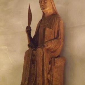 Copie de la statue de La Vierge Marie ( 13eme s. )